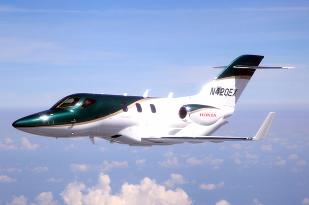 Honda's first production jet takes off from North Carolina