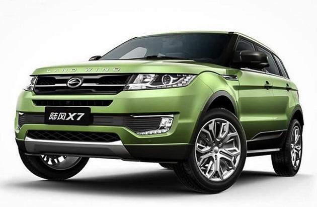 「レンジローバー・イヴォーク」をパクった中国の自動車メーカーを、ついにランドローバーが提訴