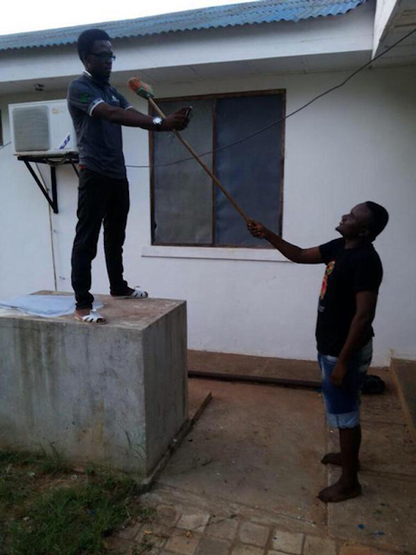 here are some people who created their own selfie sticks mandatory. Black Bedroom Furniture Sets. Home Design Ideas