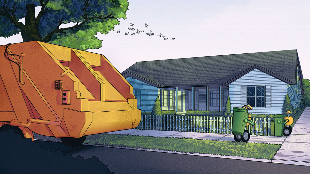 Volvo wants robots to help collect your garbage