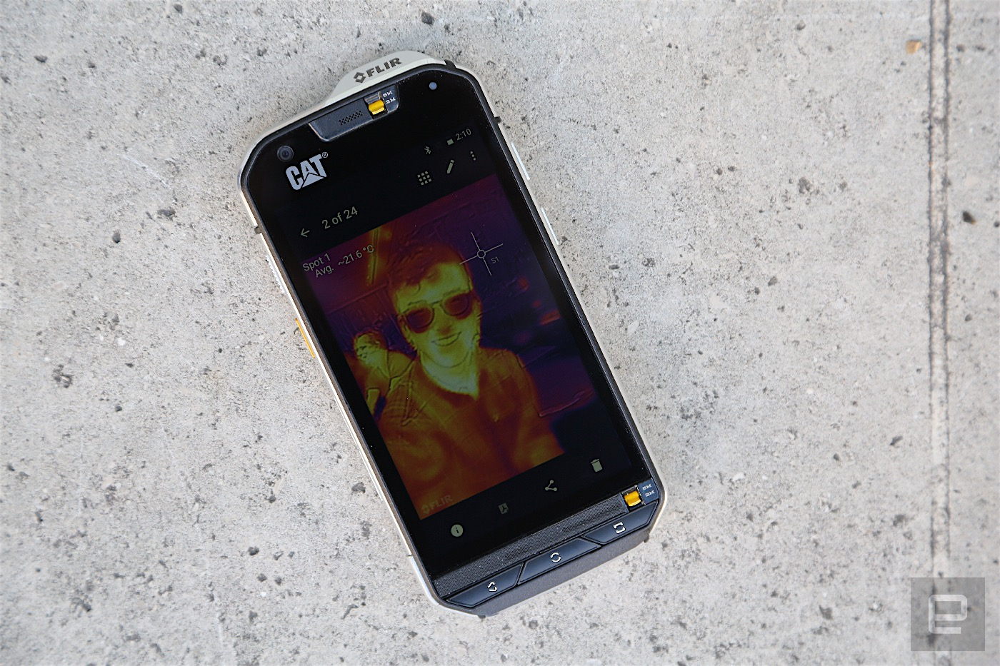 Cat's S60 is a rugged phone with a thermal camera