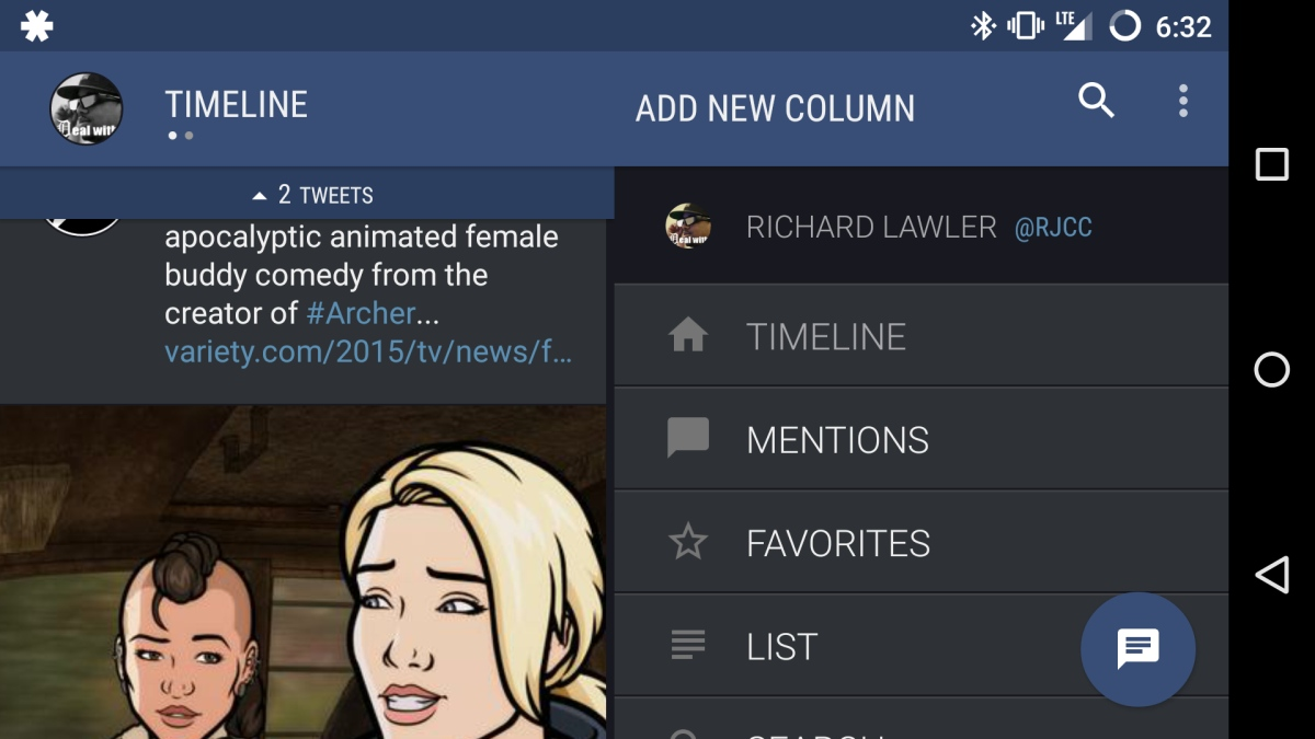 Twitter hires Falcon Pro developer to make its Android app better