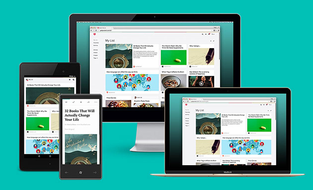 Pocket enhances its web interface with new design and features