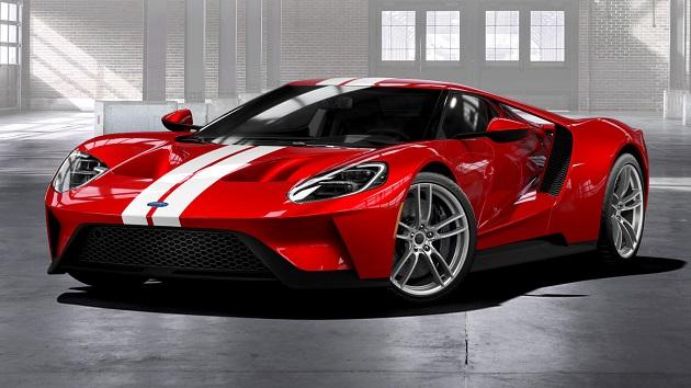 新型フォード「GT」、オンラインで500台分の受注を開始! ただし厳しい購入者選定審査あり