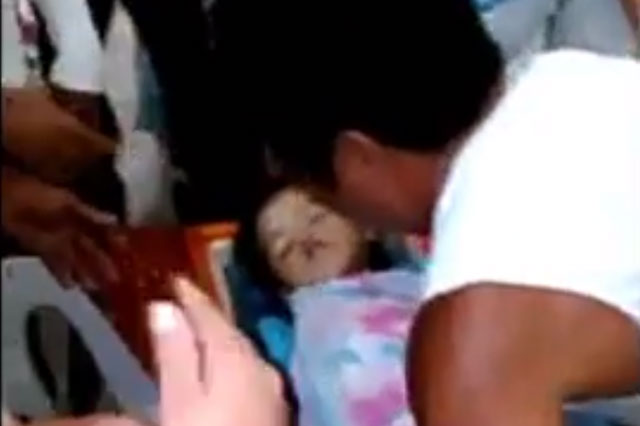 filipina toddler comes back to life at funeral