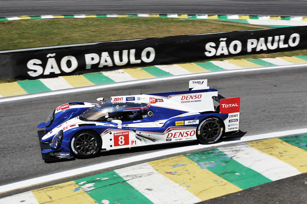 Toyota Hybrid RacingWorld Endurance Championship. 6 Hours of Brazil. 29th August-1st September 2013. Sao Paulo, Brazil.
