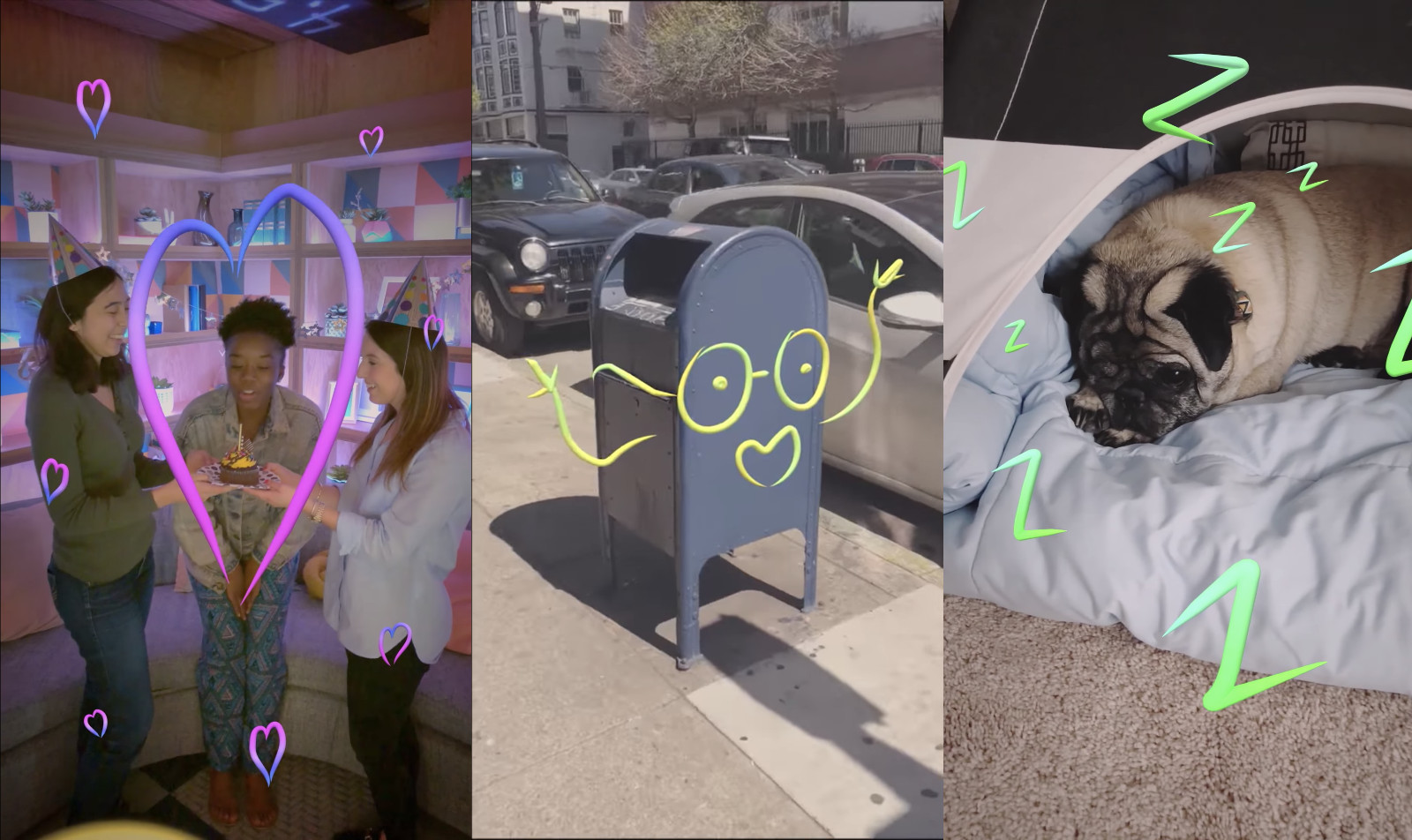 Facebook Stories will add AR doodles and Boomerang GIFs