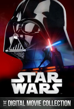 You can buy the 'Star Wars' movie collection online Friday