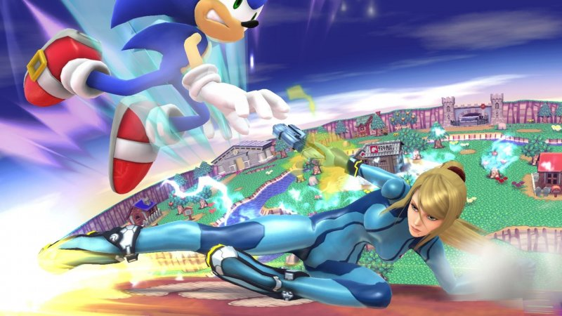 Here's a delicious helping of Super Smash Bros. Wii U gameplay!