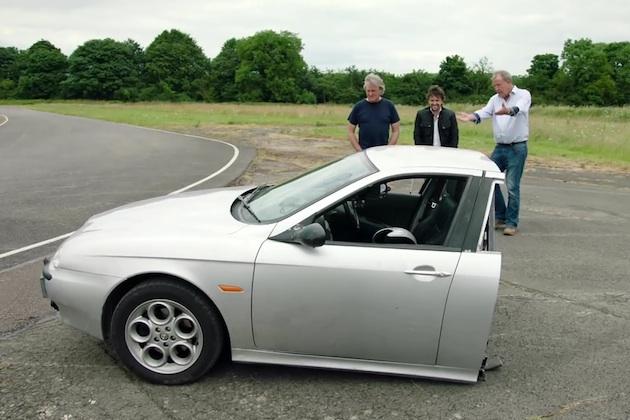 【ビデオ】自動車番組『グランド・ツアー』シーズン2ではアルファ ロメオを真っ二つにして走らせる!?