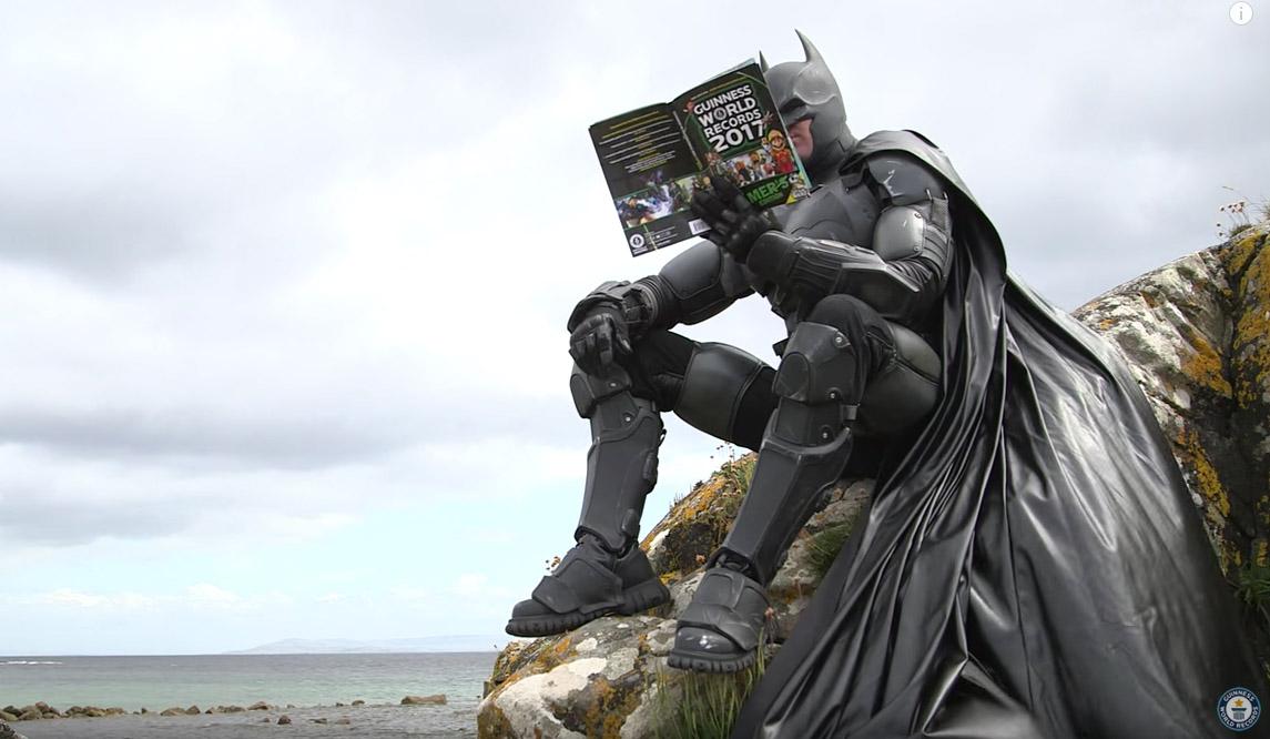batman record Este traje de Batman tiene su propio récord Guinness