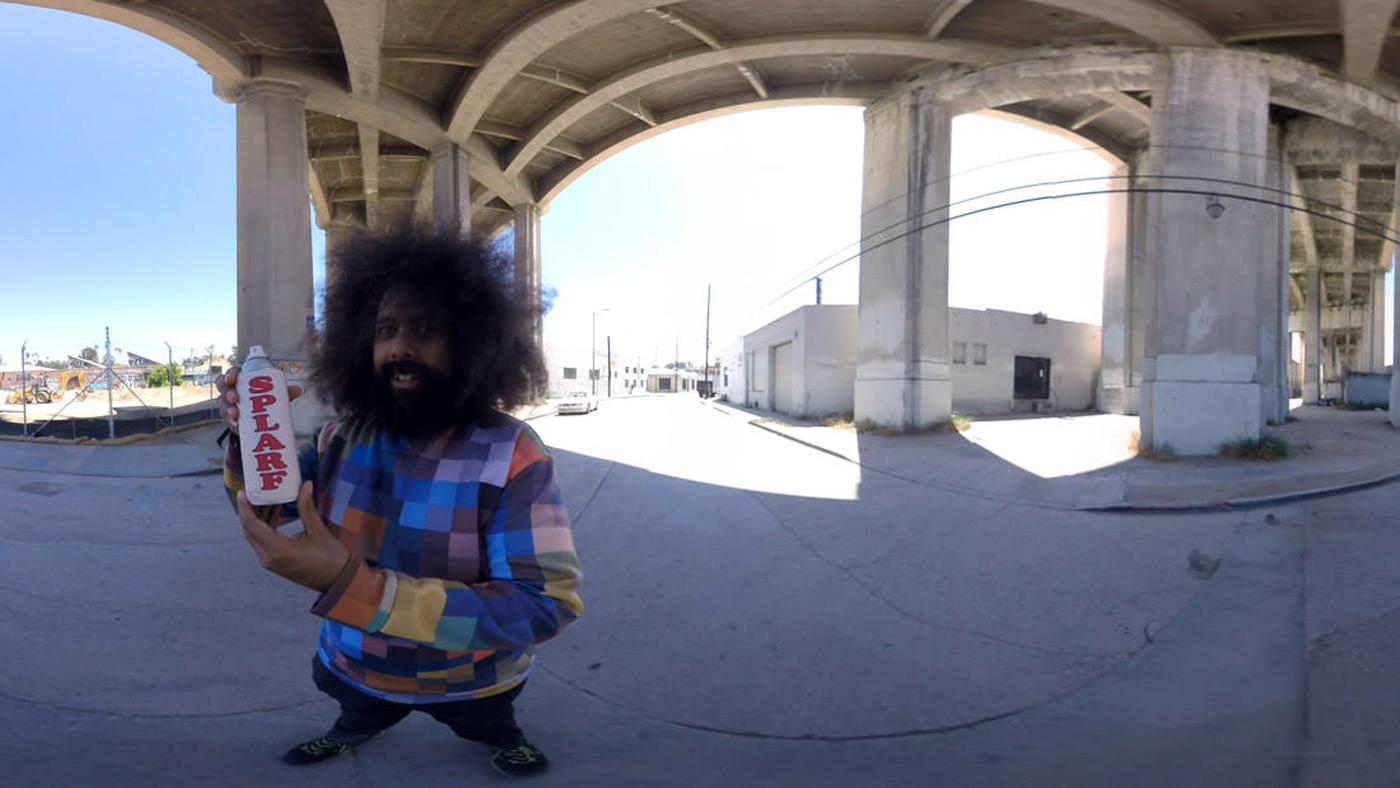 Reggie Watts made a weird comedy just for VR