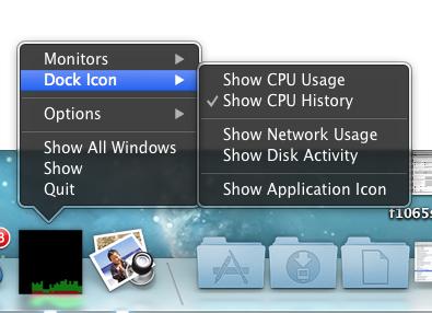 OS X Activity Monitor Dock Icon