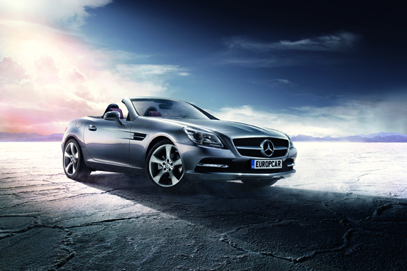 Win hire of a mercedes benz slk convertible courtesy of for Win a mercedes benz