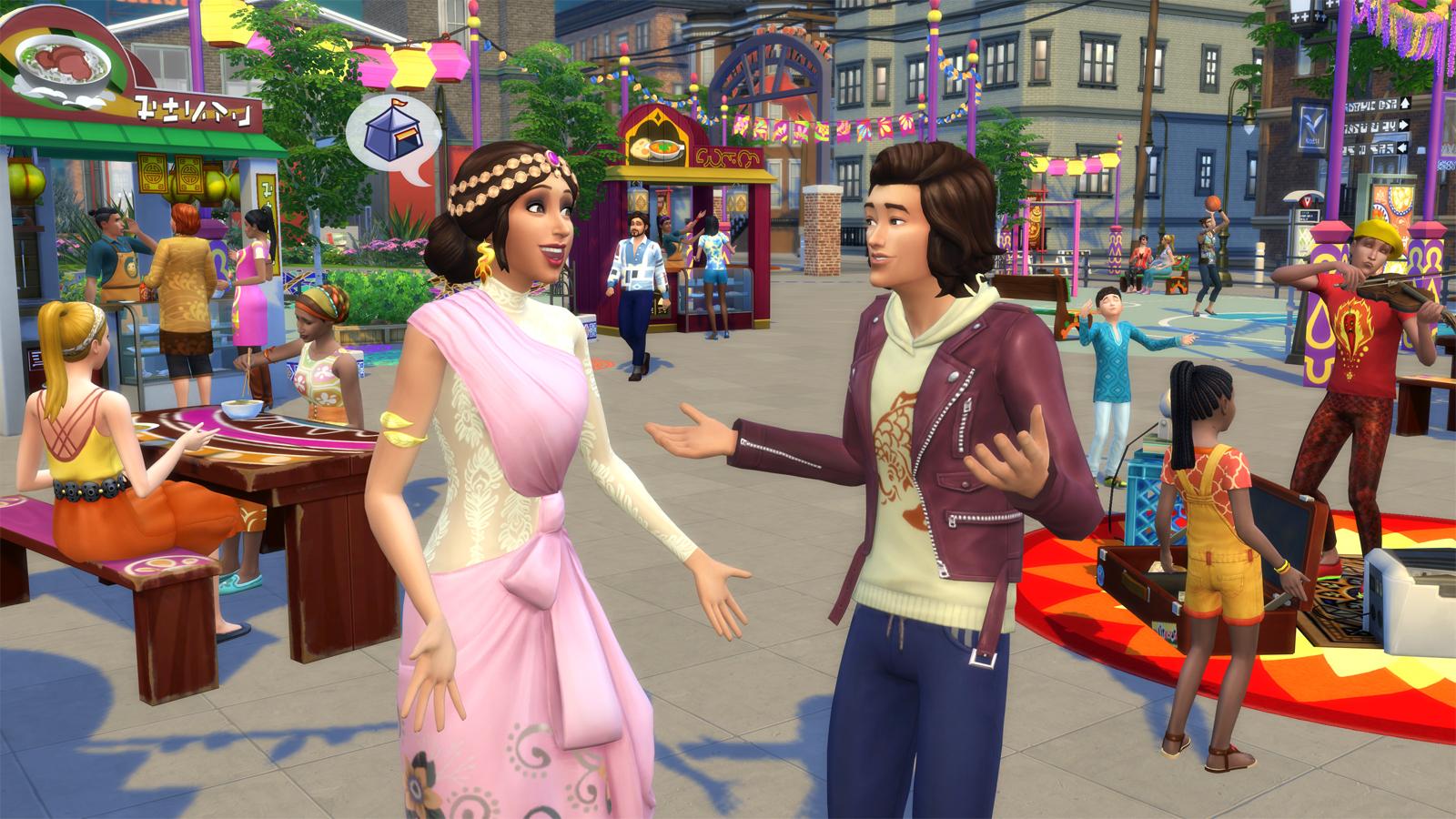 Sims 2 pack d'articles de style teen