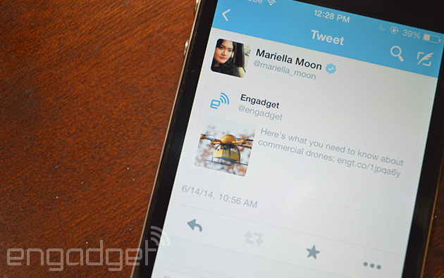 Twitter puts tweets inside your tweets on iOS and Android