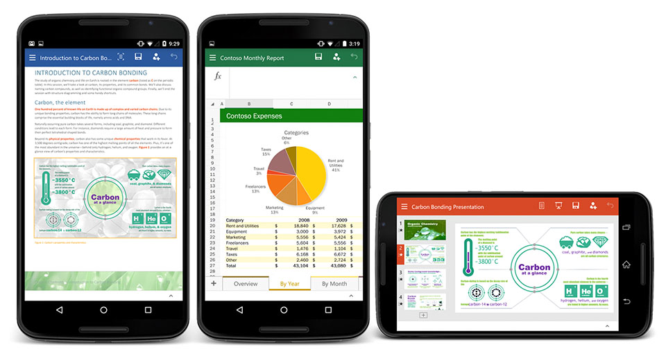 Microsoft reveals Office preview for Android smartphones