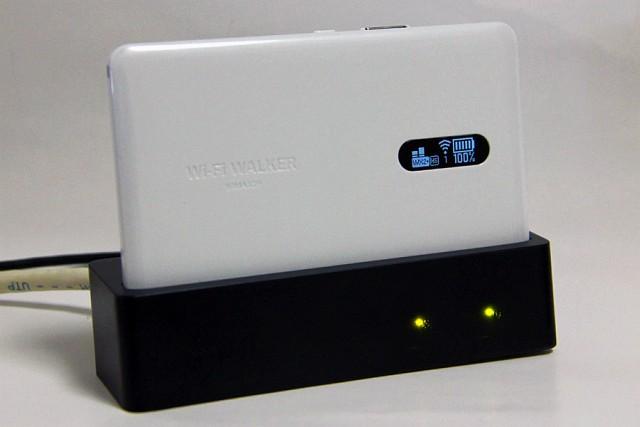 Made in JapanなモバイルルーターWi-Fi WALKER WiMAX 2+ NAD11NAD11の外観・スペック・基本操作をチェック