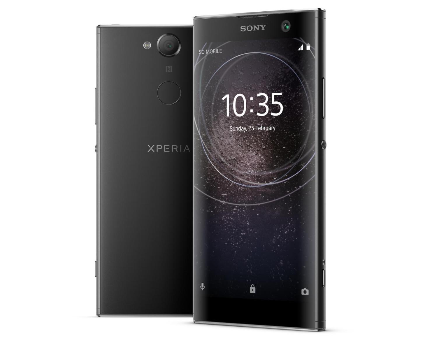 Sony presenta en CES 2018 los Xperia XA2 y Xperia XA2 Ultra, perfectos para selfies