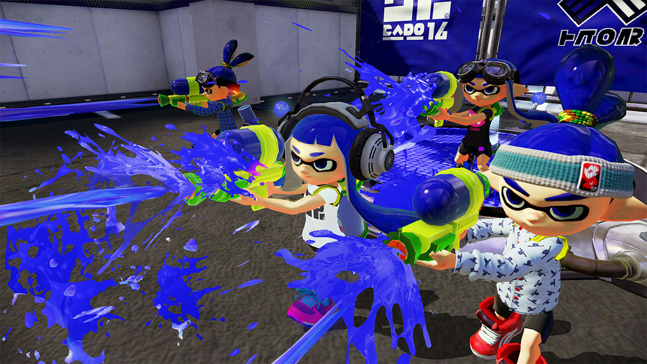 Here's everything you should know about the Wii U's Splatoon