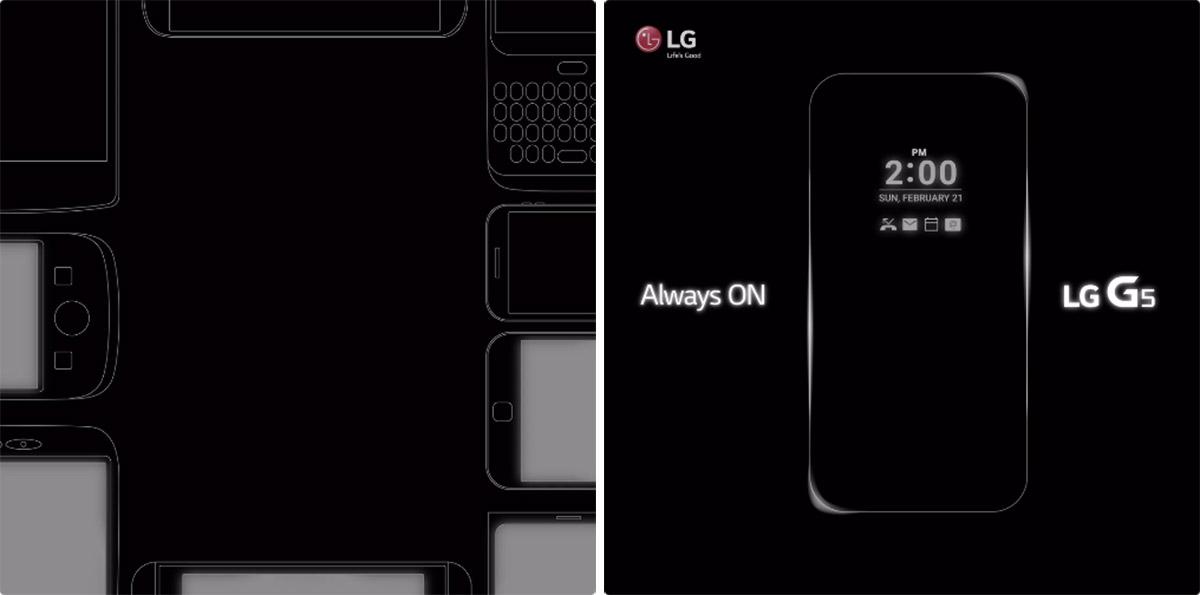LG teases G5's 'Always On' display