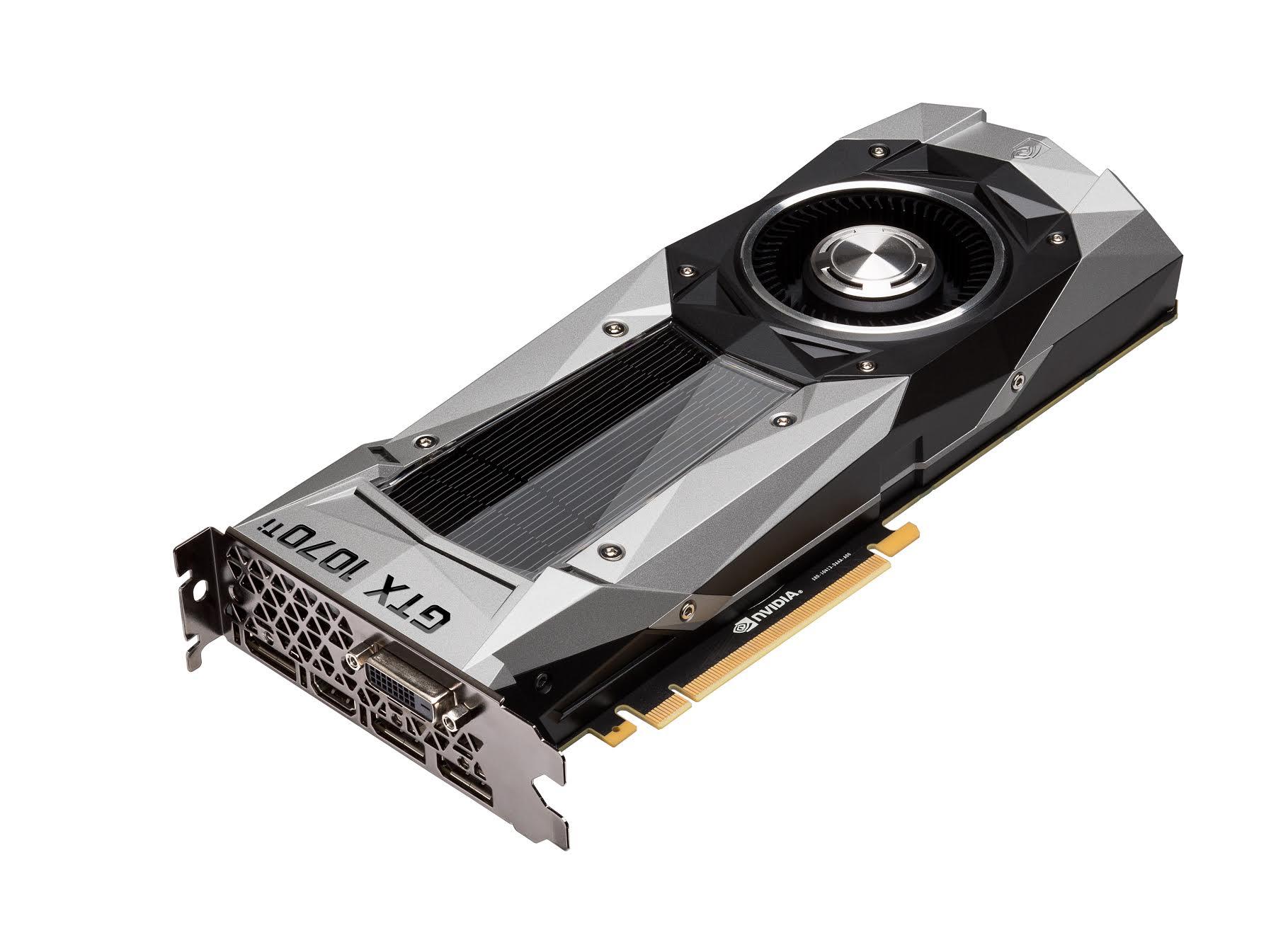 La potente GeForce GTX 1070 Ti llegará el 2 de noviembre por 475 euros
