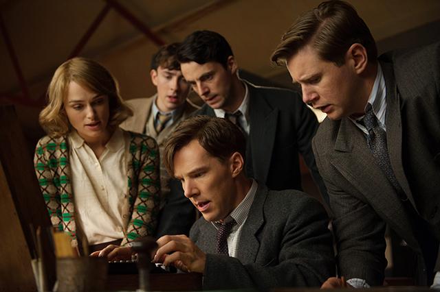 Keira Knightley, Matthew Beard, Matthew Goode, Benedict Cumberbatch, and Allen Leech star in The Imitation Game