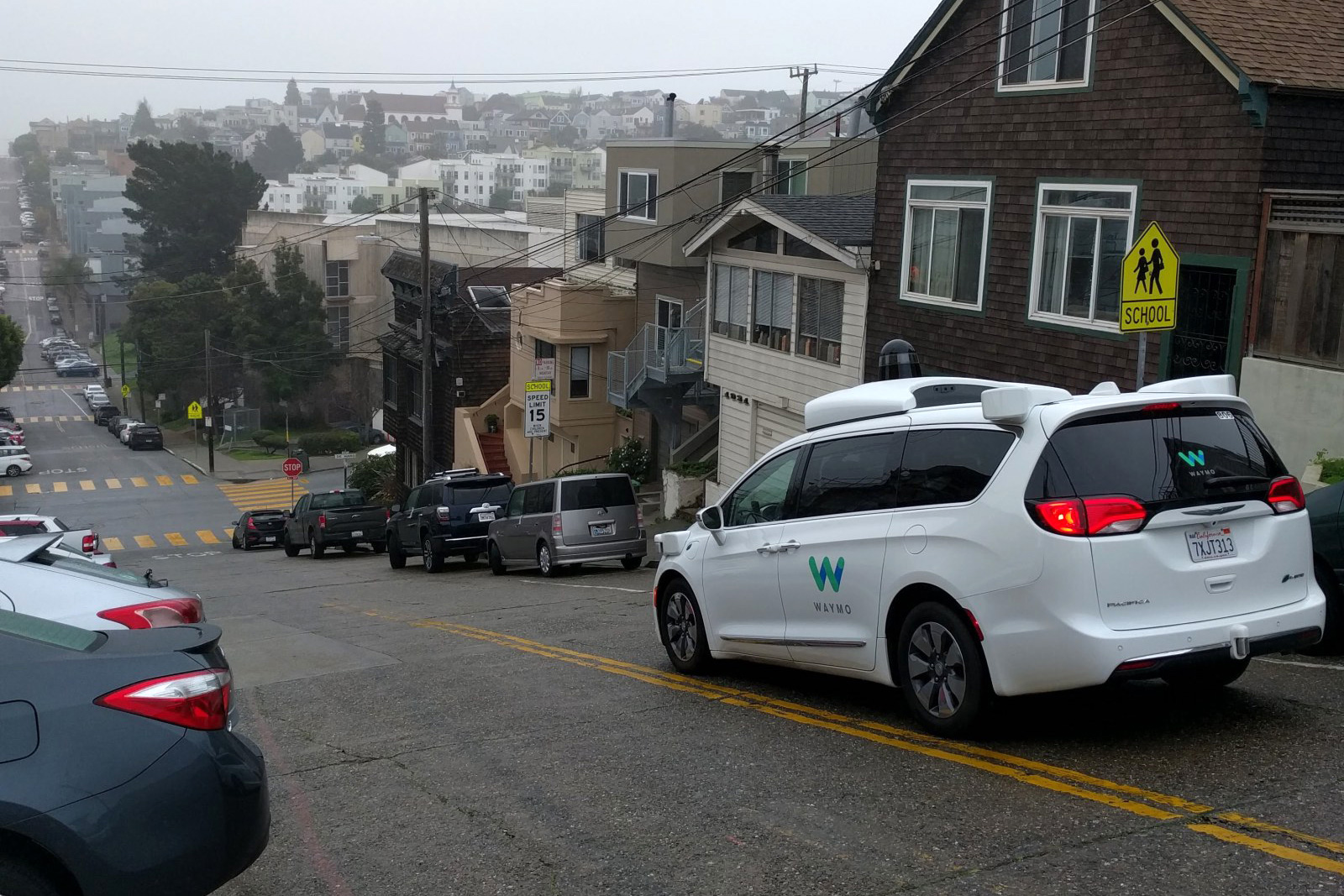 photo image Waymo starts testing self-driving minivans in San Francisco