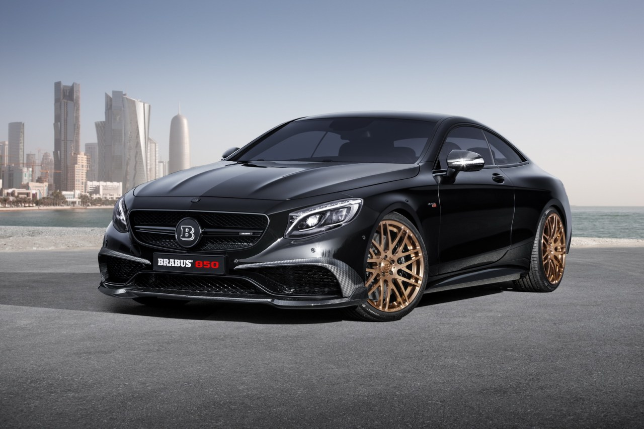 Mercedes-Benz, c222, Mercedes-Benz S63 AMG Coupé, Tuner, Tuning, S-Klasse, Mercedes Tuning, Brabus,  BRABUS 850 6.0 Biturbo Cou