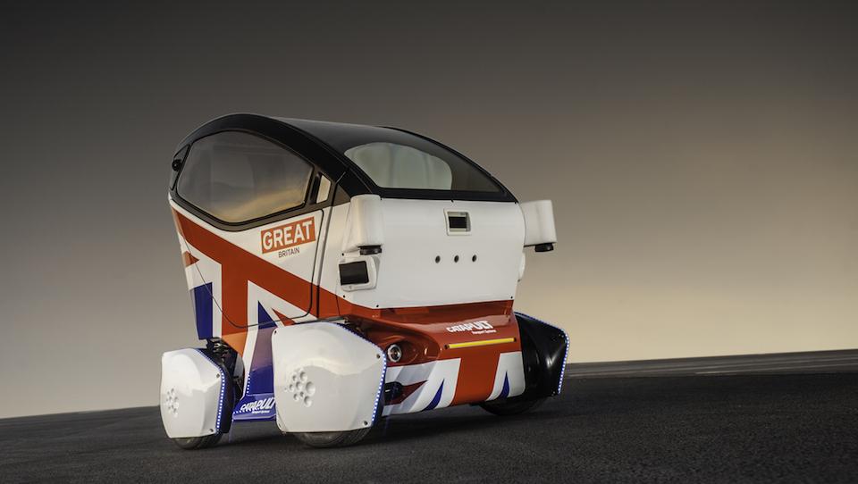 Meet the Lutz pod, the UK's first driverless 'car'