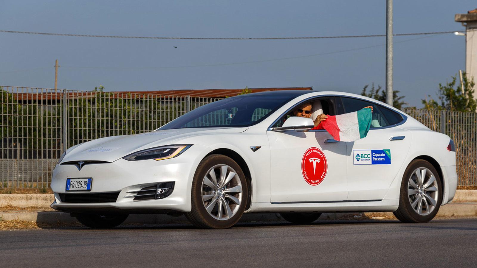 Langstreckenrekord: Tesla Model S P100D schafft 1.078 Kilometer