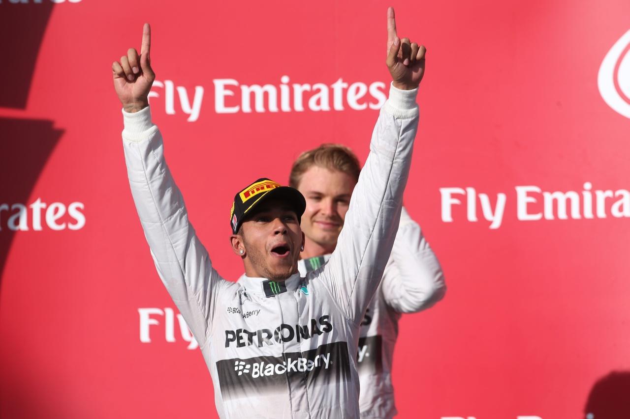 Lewis Hamilton ist Formel 1 Weltmeister 2014