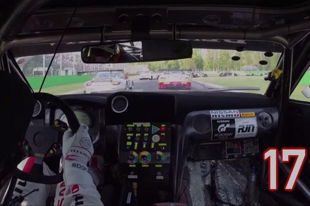 【ビデオ】日産「GT-R」がファーストラップで17台をごぼう抜きする映像!