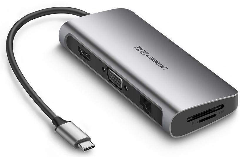 Ugreen bringt USB-C-Dock mit 9 Anschlüssen