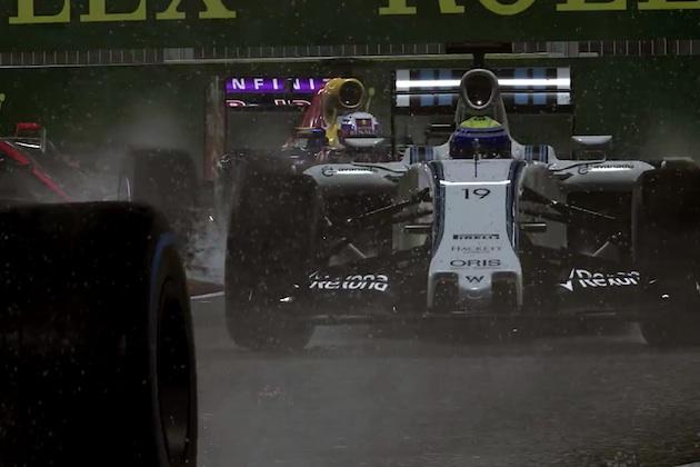 【ビデオ】グラフィックが凄い! 最新レーシングゲーム『F1 2015』の予告映像