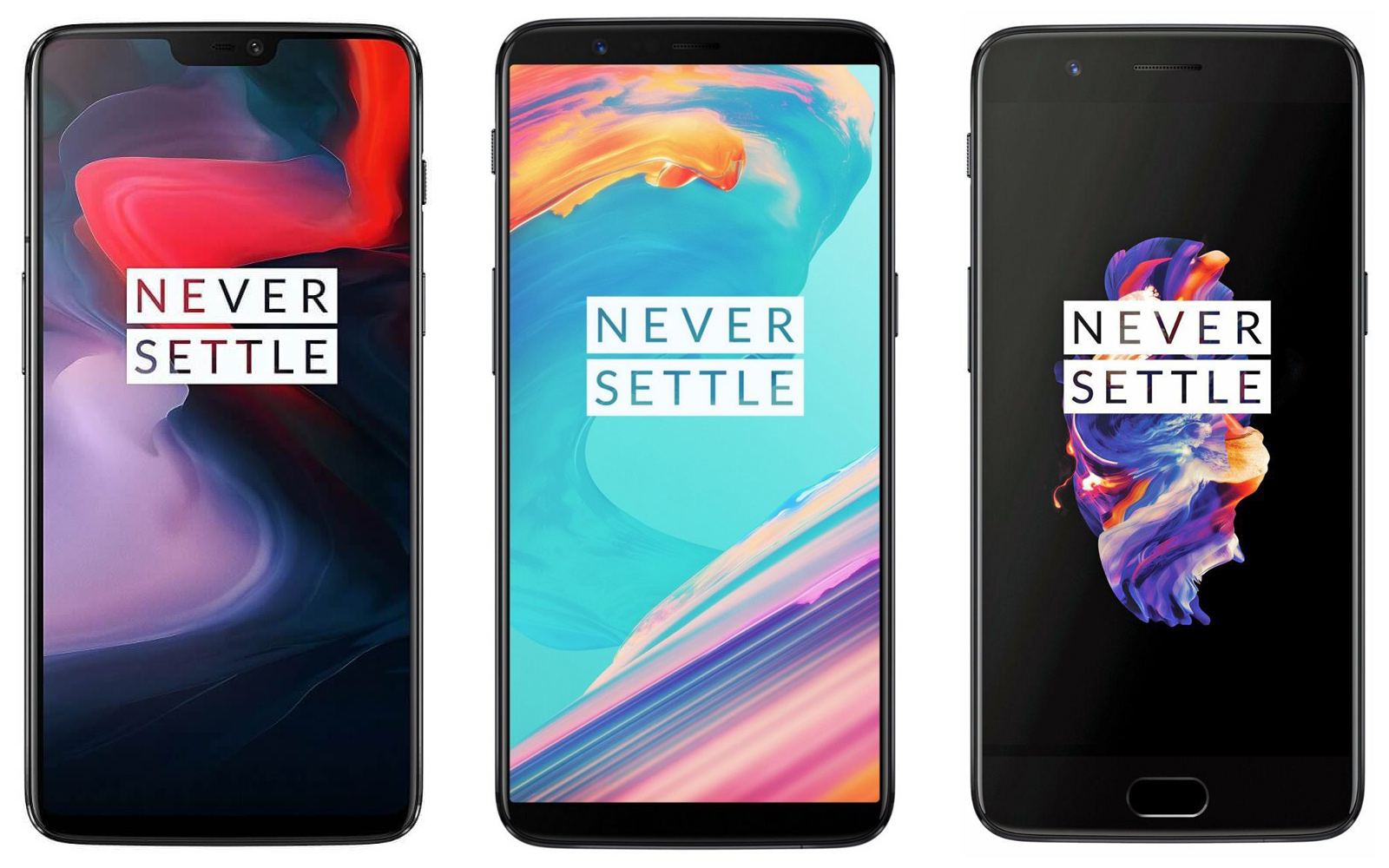 photo image The OnePlus 6 vs. the OnePlus 5T and OnePlus 5: What's changed?