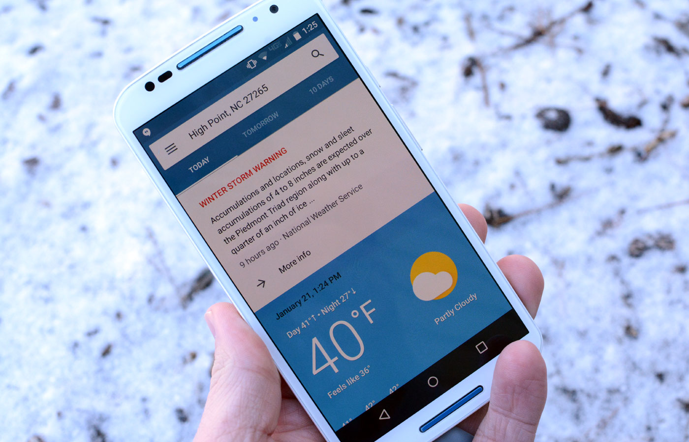 Google's mobile app gets more detailed weather info on Android