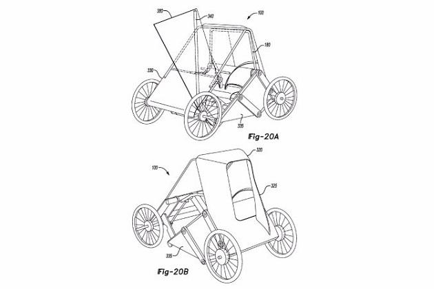 フォード、モデルAから着想を得た折り畳み式ミニマムカーの特許を出願