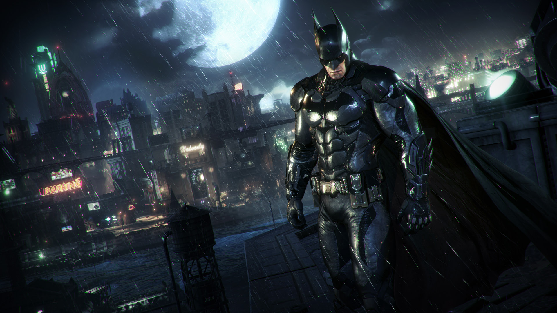 See the Batmobile in action in this new Batman: Arkham Knight gameplay video