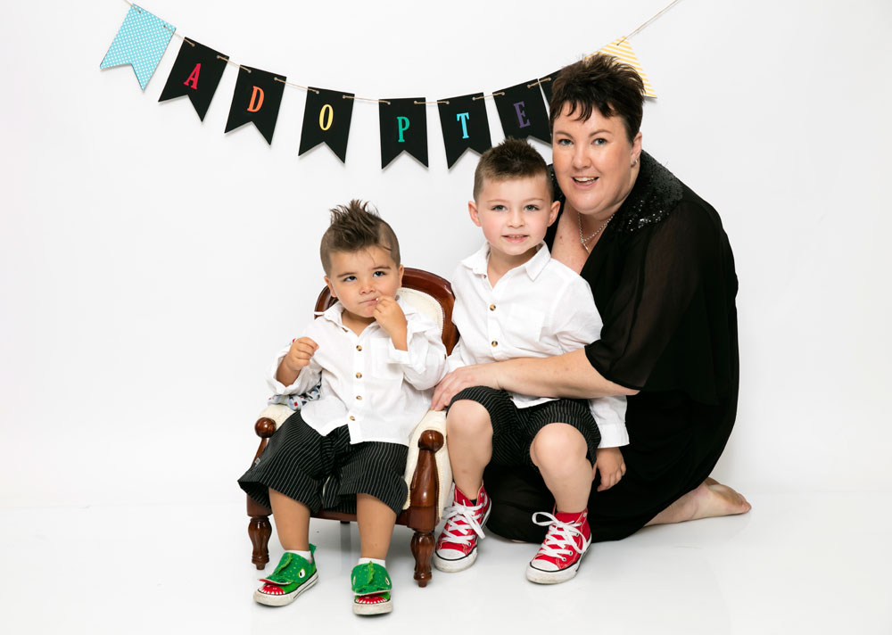 Adoption in australia everything you need to know barnados australia jodie and her sons ccuart Choice Image