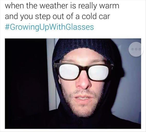 The Real Struggles Of Growing Up With Glasses