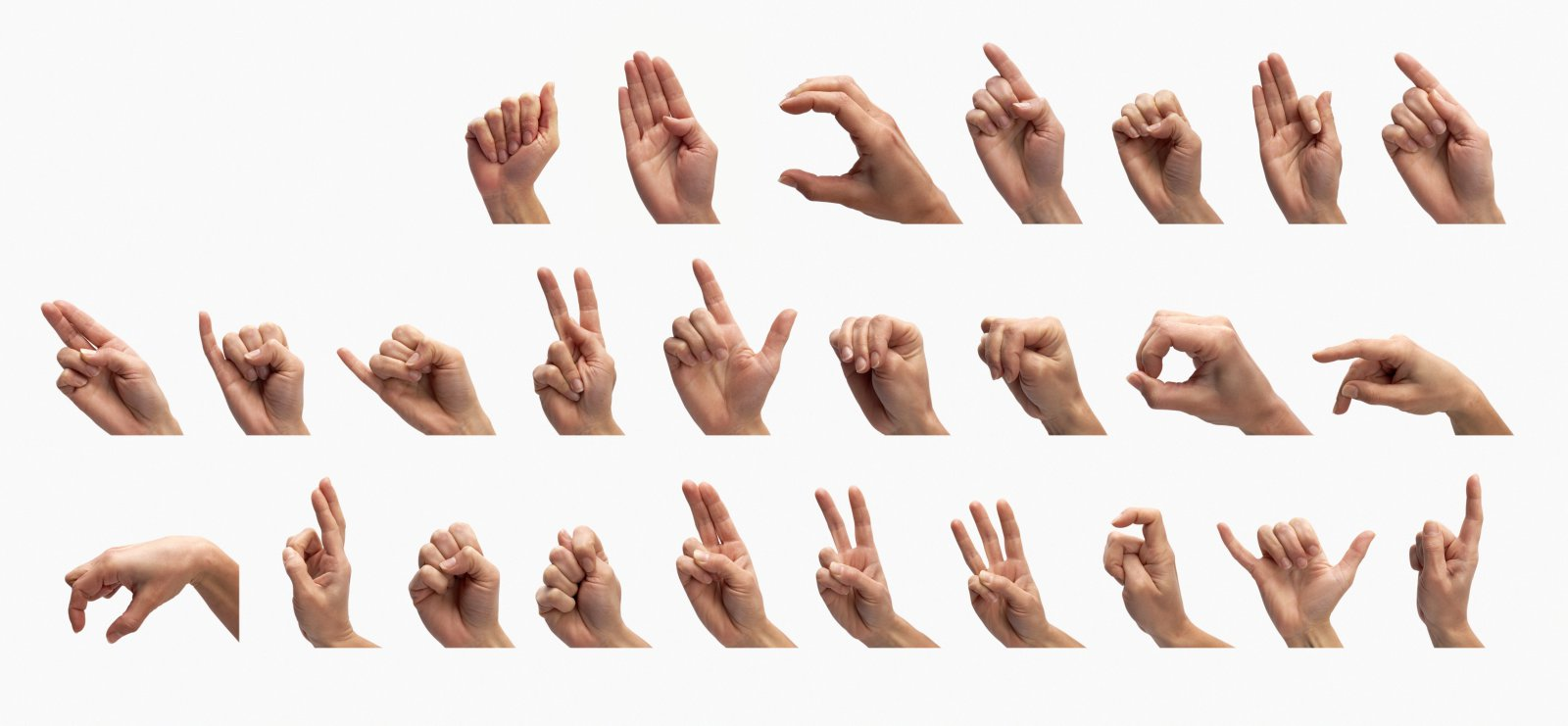 Ya puedes aprender Lenguaje de signos con la ayuda de estos GIFs