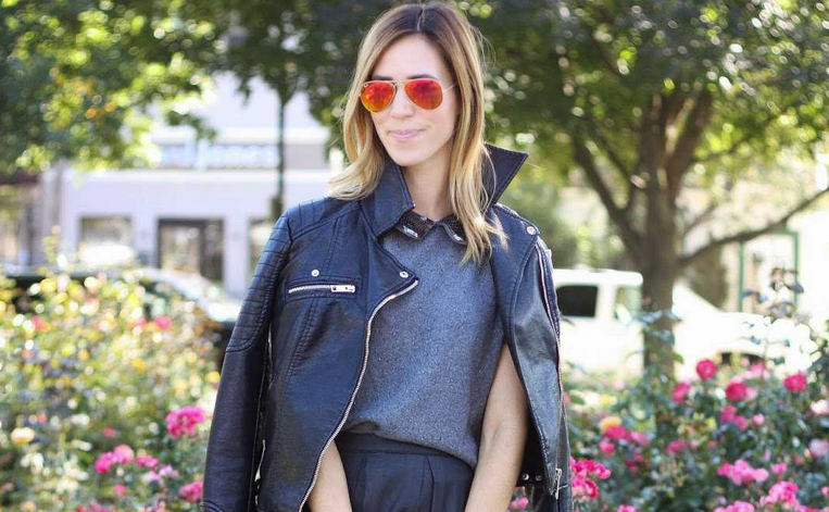 Yesterday's tip: A leather moto jacket