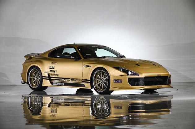 V12ツインターボ・エンジンが積まれたトップシークレットのトヨタ「スープラ」、東京オートサロン併催オークションに登場!