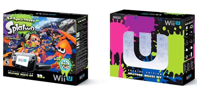 Wii U 'Splatoon' bundle