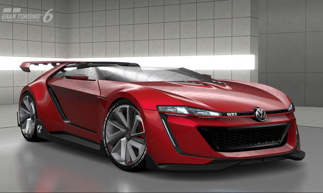 【ビデオ】パワーは503hp! VWの「GTI ロードスター ビジョン グランツーリスモ」が正式発表