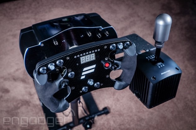 Building a high-end racing sim setup with $1,800 in gaming accessories