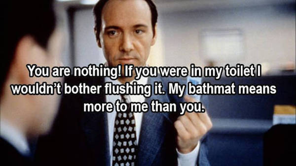 The Most Brutal Movie Insults