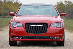 2015 Chrysler 300, front view.