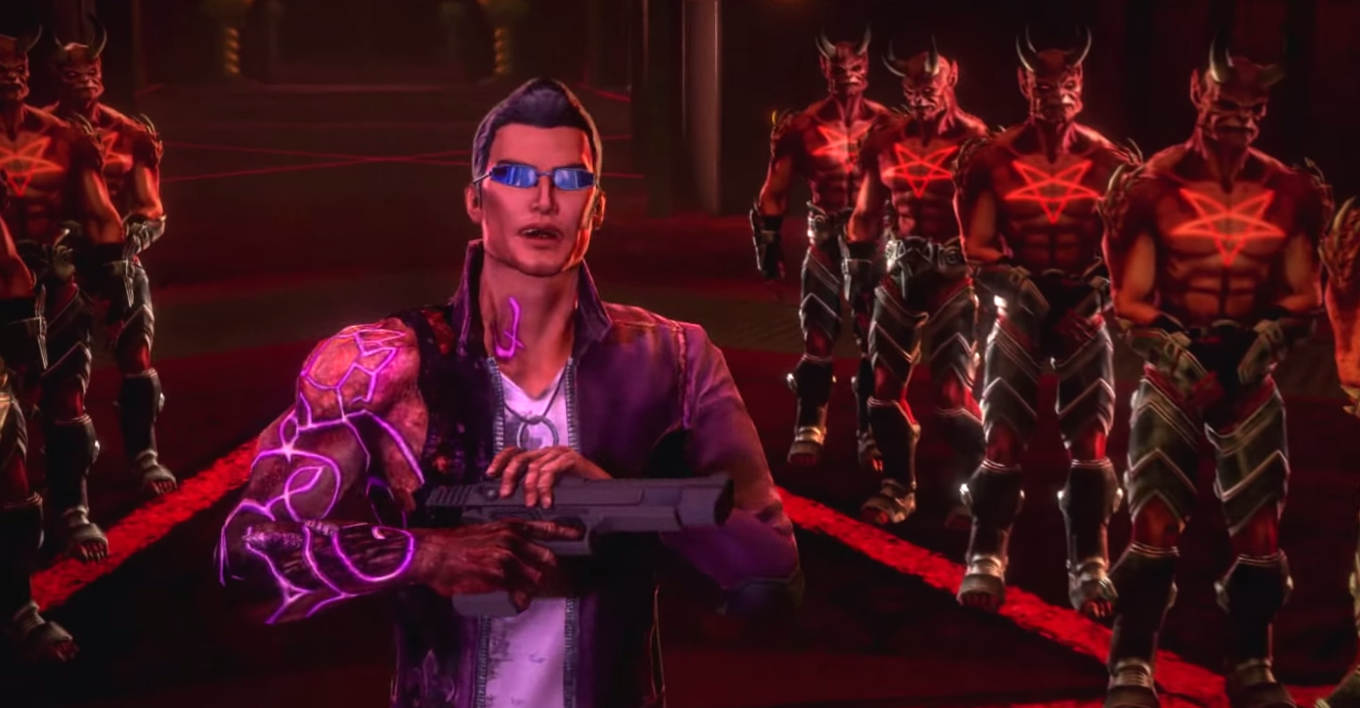 Saints Row: Gat Out of Hell trailer goes musical and totally wacky
